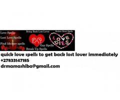No.1spells caster/lost love spells call +27833147185